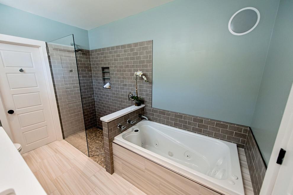 Yarmouth Master Bath - Modern - Bathroom - Portland Maine ...