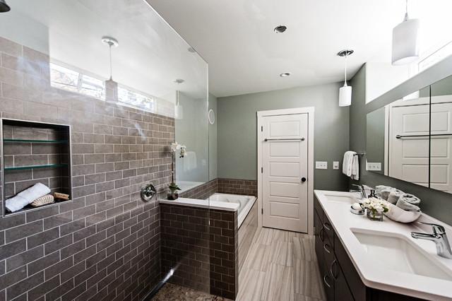 Yarmouth Master Bath Modern Bathroom Portland Maine By O 39 Shea Builders Llc