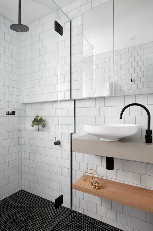add storage to an ensuite bathroom