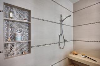 Yorba Linda Residence Contemporary Bathroom Orange