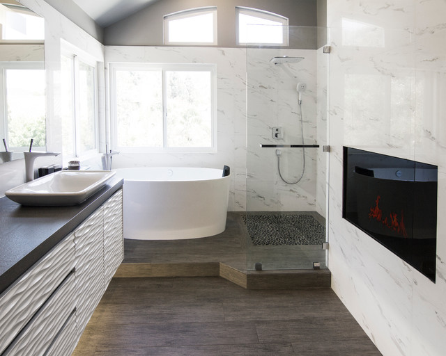 Yorba Linda Residence contemporary-bathroom