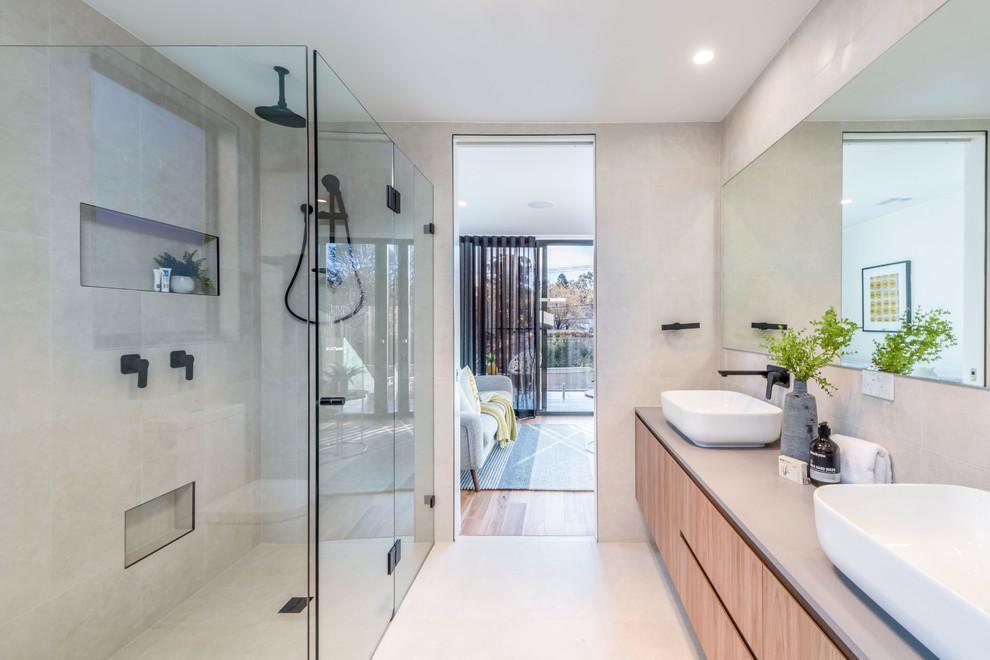 York Townhouses Campbell - Contemporary - Bathroom ...