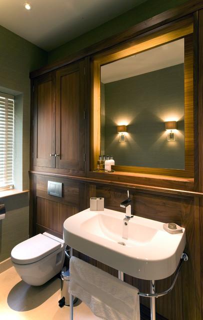 York View modern-bathroom