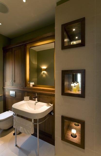 York View - Transitional - Bathroom - by Brilliant Lighting
