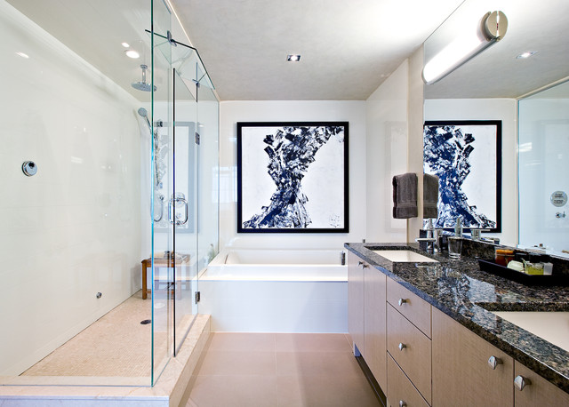 Yorkville, Ensuite Bathroom contemporary-bathroom