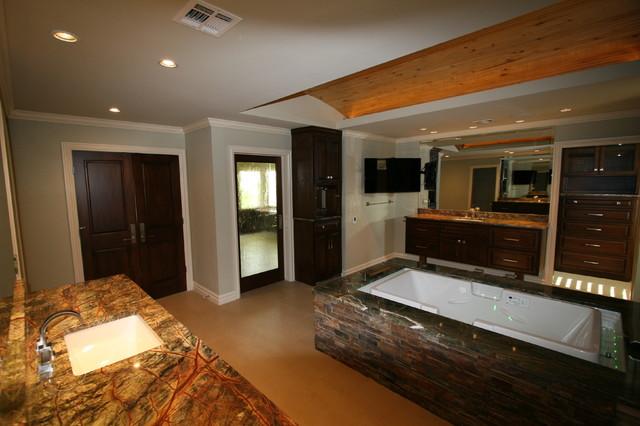 Young-Hampton Residence - Contemporary - Bathroom - oklahoma city - by Andrew C. Thomas, Architect