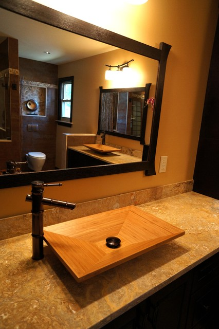 Asian Style Bathroom Decor: Zen Bathroom By Creative Remodeling