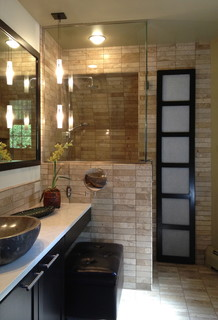 Zen Bathroom Asian Bathroom Cedar Rapids By
