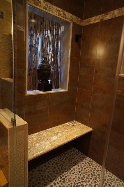 Zen Bathroom Contemporary Bathroom