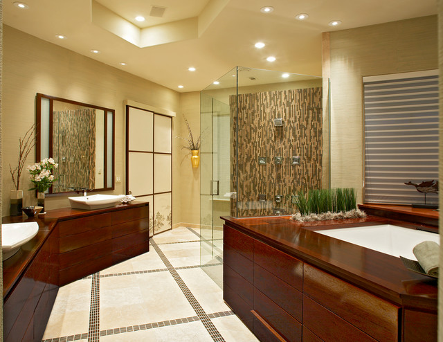 Zen Bathroom Asian Bathroom Dallas By The Viking Craftsman Inc