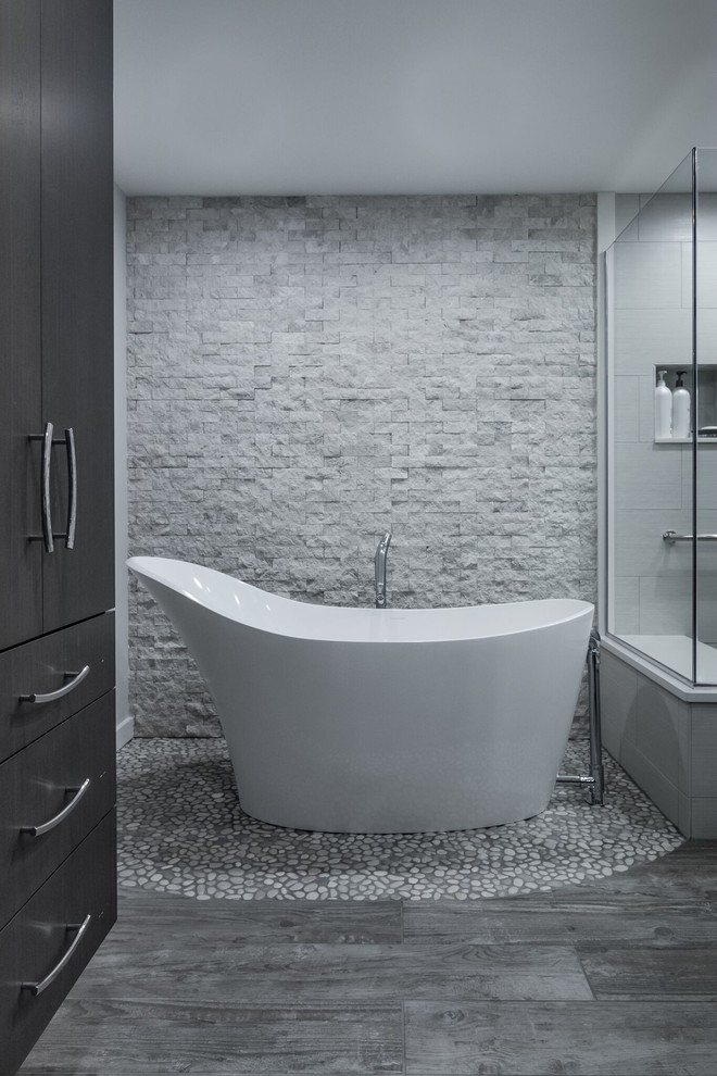 Zen Contemporary Bathroom