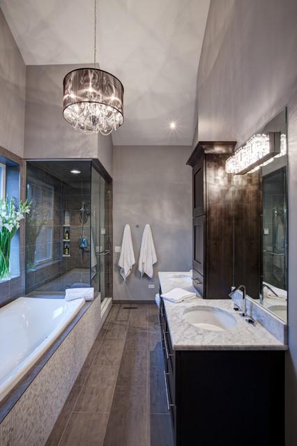 Zen like naperville il master bath remodel contemporary for Bathroom remodeling naperville il