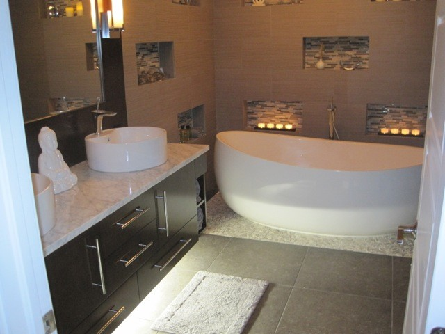 Zen Master Bathroom Contemporary Bathroom Miami By Phyllis Mosher Designs Inc
