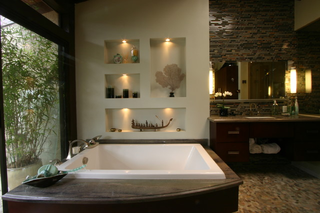 Zen Master Asian Bathroom Other Metro By South Bay Design Center