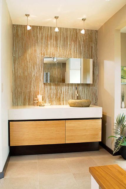 Zen Retreat Modern Bathroom Atlanta By Burns Century Interior Design