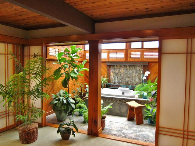 zen spa room asiatique salle de bain washington dc