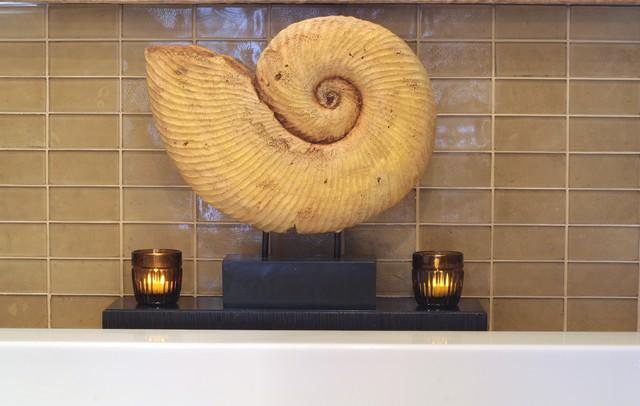 Zen Space eclectic-bathroom