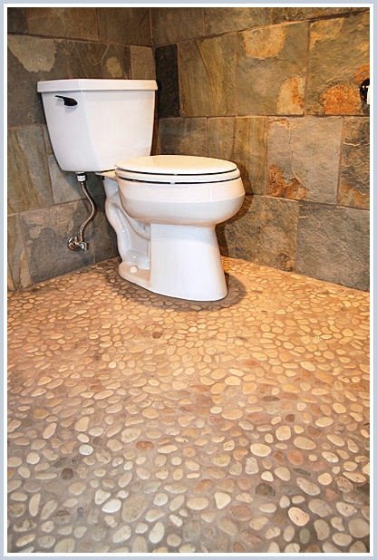 Love The River Stone Pebble Floor What Is Color Of