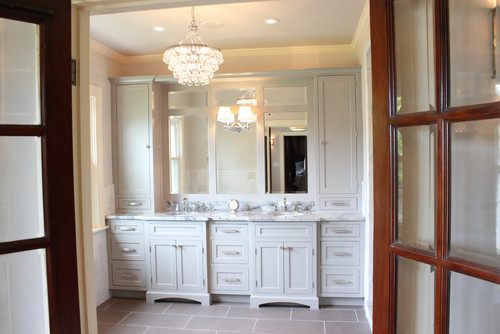 Master Bathroom Remodel featuring Dura Supreme Cabinetry
