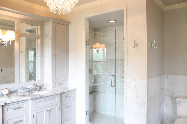 Ziegle Avenue Master Bath & Closet traditional-bathroom