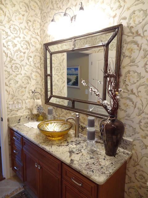 Zinnia traditional-bathroom