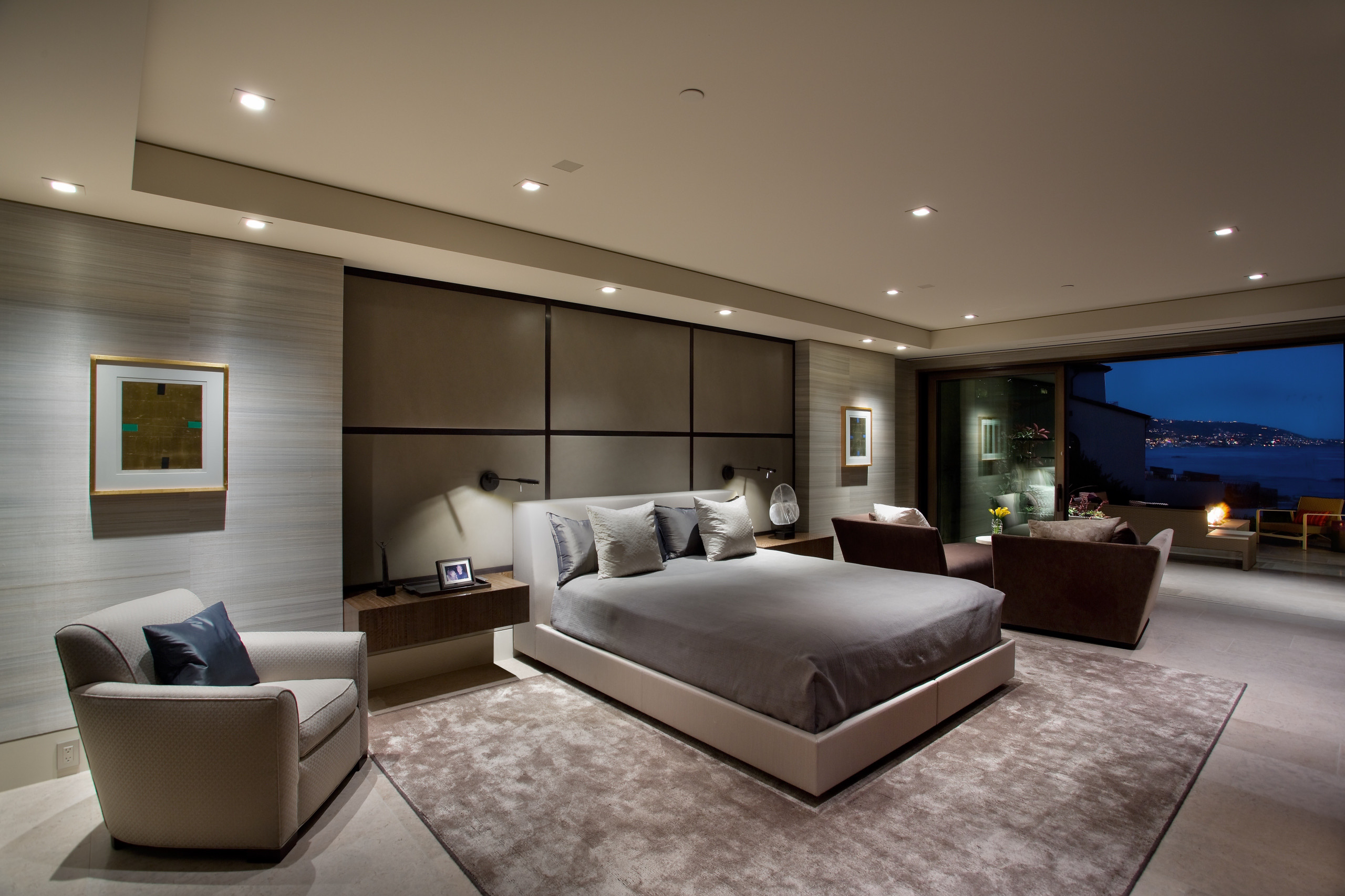 4 Beautiful Modern Master Bedroom Pictures & Ideas - January