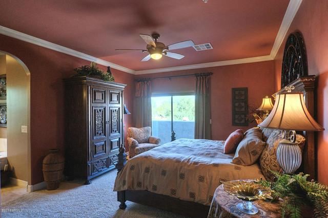 10757 N 74th St #2002 mediterranean-bedroom