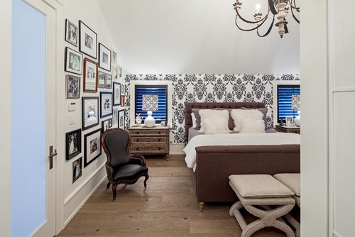 Eclectic Bedroom by Toronto Photographers Peter A. Sellar - Architectural Photographer