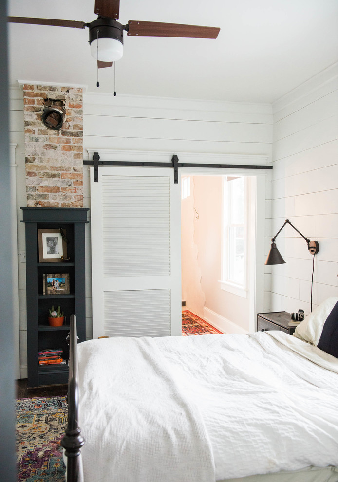 Example of a bedroom design in New York