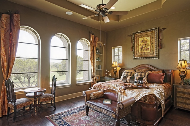 110 Golden Bear mediterranean-bedroom