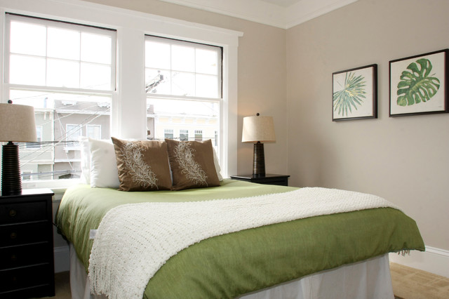 11th Ave Home Staging contemporary-bedroom