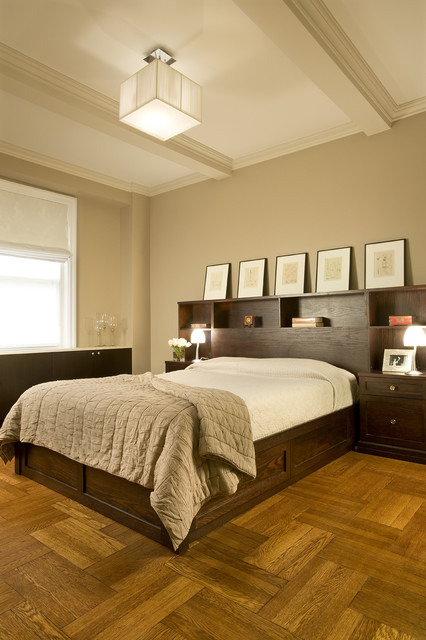 128 Central Park South contemporary-bedroom