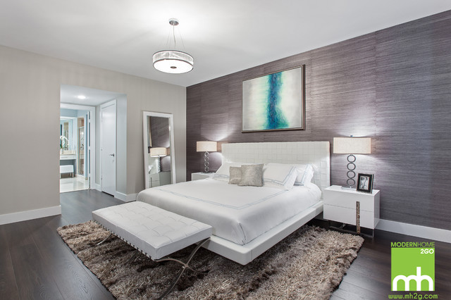 151 Biscayne Condo Modern Bedroom Miami By Mh2g