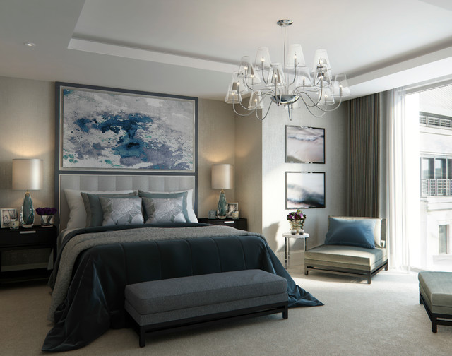 190 Strand Contemporary Bedroom