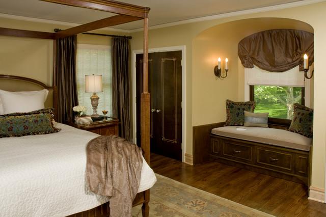 1920s mediterranean rehab traditional bedroom for 1920s bedroom ideas