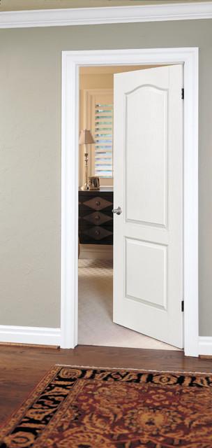 2 Panel Arch Interior Doors   Modern   Bedroom   Orange ...