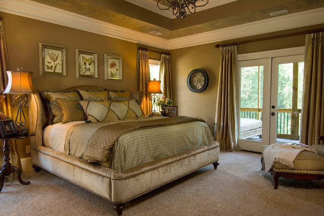 2007 southern living showcase home mediterranean for Southern bedroom designs