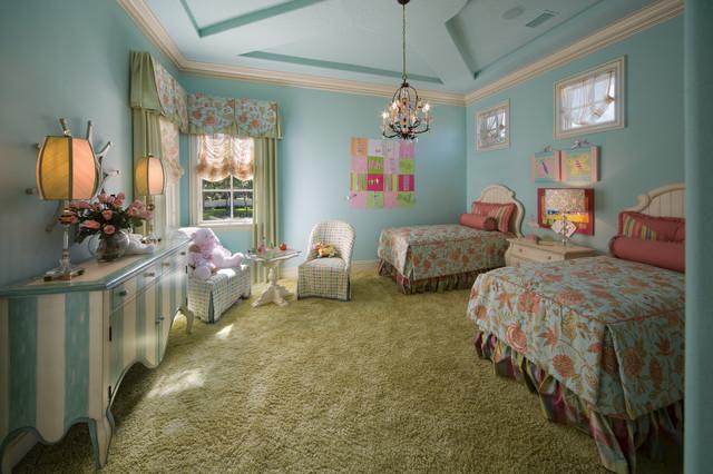 2008 Orlando Street of Dreams traditional-bedroom