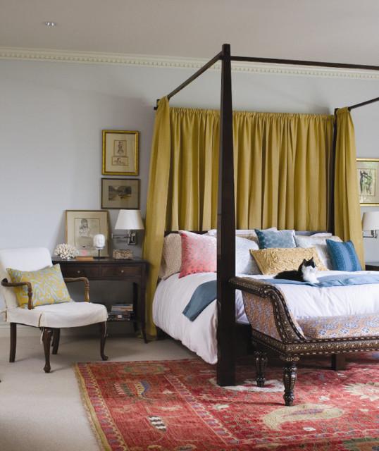 Elegant bedroom photo in Denver