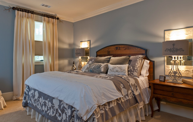 2010 southern living showcase home craftsman bedroom for Southern bedroom designs