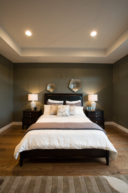 2011 manitoba fall parade of homes transitional Houzz master bedroom photos