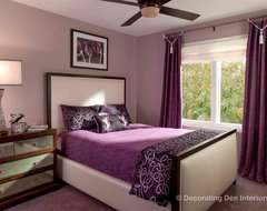 2012 Home updates: Professional Woman & Older Daughter contemporary bedroom