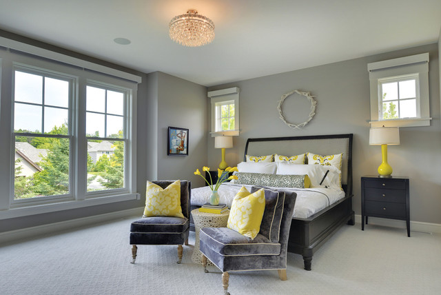 2017 Midwest Home Magazine Luxury Tour Dream Transitional Bedroom