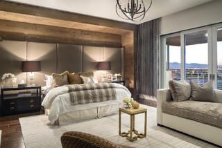 2014 new american home contemporary bedroom las for Modern home decor las vegas
