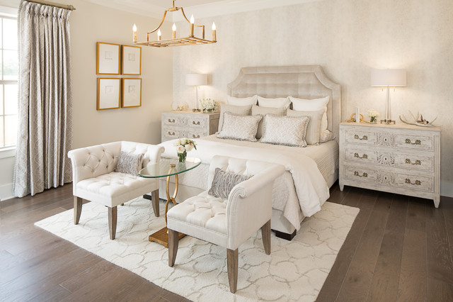 2015 Acadiana St Jude Dream Home Transitional Bedroom