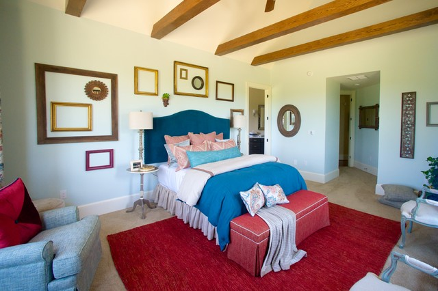 2015 Charlottesville Design House Transitional Bedroom