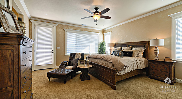 2015 st jude dream home rustic bedroom
