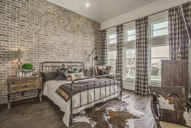 2016 Parade Of Homes rustic-bedroom