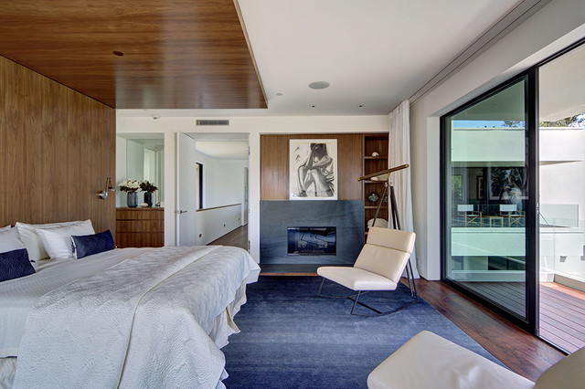 modern bedroom by Meridith Baer Home