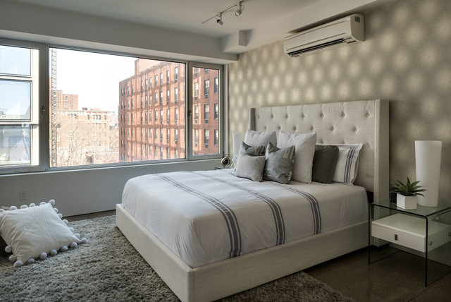 255 Bowery Staging Contemporary Bedroom New York By TAHAR D COR